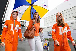 THE HAGUE - Rabobank Hockey World Cup 2014 - 2014-06-10 - MEN - NEW ZEALAND - THE NETHERLANDS -  supporters oranje.<br /> Copyright: Willem Vernes