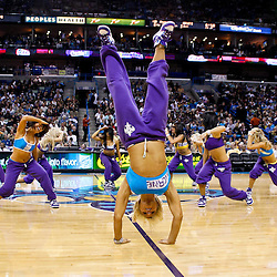 December 29, 2010; New Orleans, LA, USA; New Orleans Hornets Honeybees dancers perform during the third quarter of a game against the Los Angeles Lakers at the New Orleans Arena. The Lakers defeated the Hornets 103-88.  Mandatory Credit: Derick E. Hingle