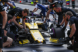 July 27, 2018 - Budapest, Hungary - Motorsports: FIA Formula One World Championship 2018, Grand Prix of Hungary, .#55 Carlos Sainz jr. (ESP, Renault Sport Formula One Team) (Credit Image: © Hoch Zwei via ZUMA Wire)