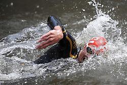 16.07.2011, Hamburg, GER, Dextro Energy Triathlon ITU World Championship Series, Elite men, im Bild Jan Frodeno (GER) schwimmt in der Binnenalster .EXPA Pictures © 2011, PhotoCredit: EXPA/ nph/  Witke       ****** out of GER / CRO  / BEL ******