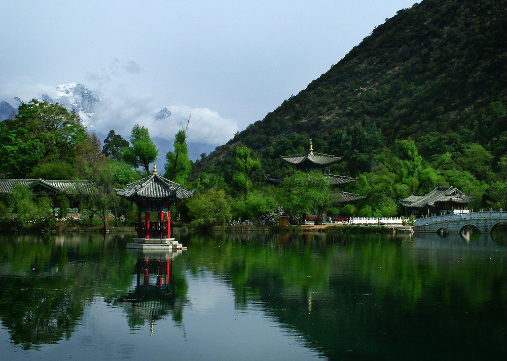 The Black Dragon Pool located in Kunming, China. <br />