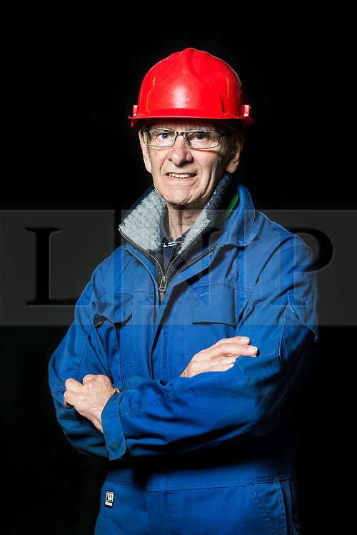 "© Licensed to London News Pictures. 04/05/2016. Birkenhead UK. Picture shows volunteer & former Store Man John Churchill who worked on the restoration of the Daniel Adamson at Canada Dock in Liverpool. The Daniel Adamson steam boat has been bought back to operational service after a £5M restoration. The coal fired steam tug is the last surviving steam powered tug built on the Mersey and is believed to be the oldest operational Mersey built ship in the world. The ""Danny"" (originally named the Ralph Brocklebank) was built at Camel Laird ship yard in Birkenhead & launched in 1903. She worked the canal's & carried passengers across the Mersey & during WW1 had a stint working for the Royal Navy in Liverpool. The ""Danny"" was refitted in the 30's in an art deco style. Withdrawn from service in 1984 by 2014 she was due for scrapping until Mersey tug skipper Dan Cross bought her for £1 and the campaign to save her was underway. Photo credit: Andrew McCaren/LNP ** More information available here http://tinyurl.com/jsucxaq **"