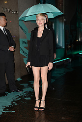 May 3, 2018 - New York, NY, USA - May 3, 2018  New York City..Michelle Williams attending Tiffany & Co. 'Paper Flowers' jewelry collection launch on May 3, 2018 in New York City. (Credit Image: © Kristin Callahan/Ace Pictures via ZUMA Press)