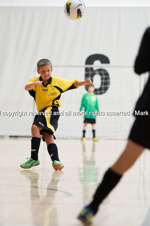 Futsal Youth Nationals Photoshoot. New Zealand Football. ASB Sports Centre, Wellington. 19 July 2013. Photo: Mark Tantrum/photosport.co.nz