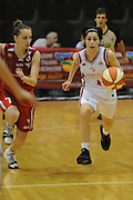 ROMA 29.04.2010<br /> LEGABASKETFEMMINILE CAMPIONATO ITALIANO 2009-2010<br /> SERIE B ECCELLENZA GIRONE C <br /> PLAY OFF POULE PROMOZIONE<br /> PARTITA COLLEGE ITALIA-SANTA MARINELLA <br /> NELLA FOTO DOTTO FRANCESCA