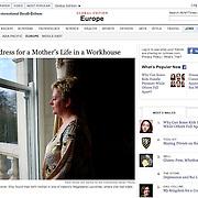 "Screengrab of ""Ireland's Magdalene Laundries"" published in International Herald Tribune/NYT"