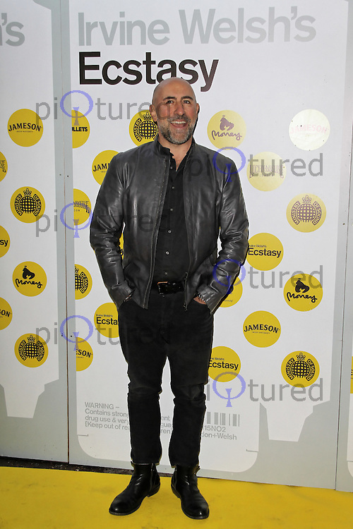 LONDON - APRIL 17: Carlo Rota attends the World Film Premiere of 'Irvine Welsh's Ecstasy' at the Ministry Of Sound, London, UK. April 17, 2012. (Photo by Richard Goldschmidt)