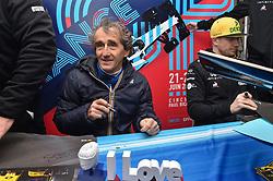 March 11, 2018 - Le Castellet, France - Avant-premieres du GIP Grand Prix de France a Nice avec Alain Prost et Nico Hulkenberg (Credit Image: © Panoramic via ZUMA Press)