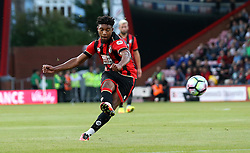 Jordan Ibe of Bournemouth shoots from a direct free kick - Mandatory by-line: Robbie Stephenson/JMP - 03/08/2016 - FOOTBALL - Vitality Stadium - Bournemouth, England - AFC Bournemouth v Valencia - Pre-season friendly