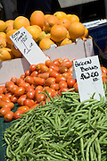 Fresh Produce at the Downtown Anaheim Farmers Market