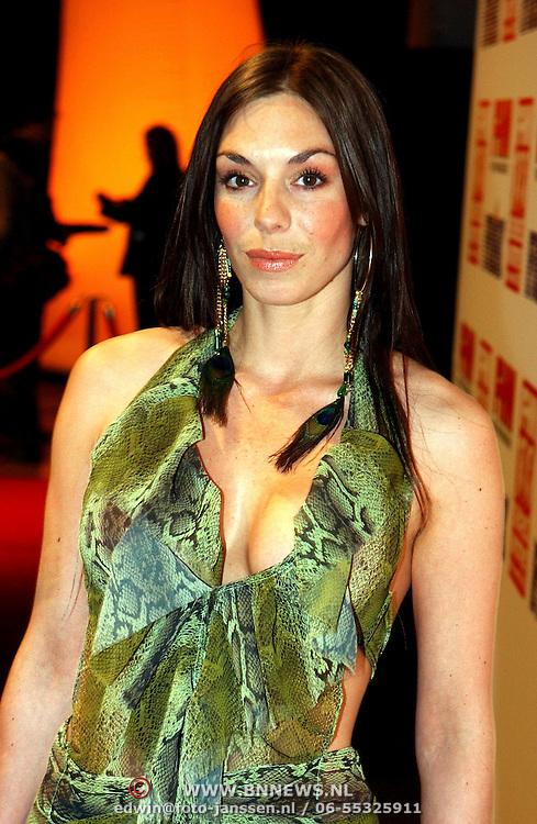 NLD/Amsterdam/20050519 - Uitreiking 2005 FHM 100 sexiest vrouwen Awards, Ttara van der Bergh
