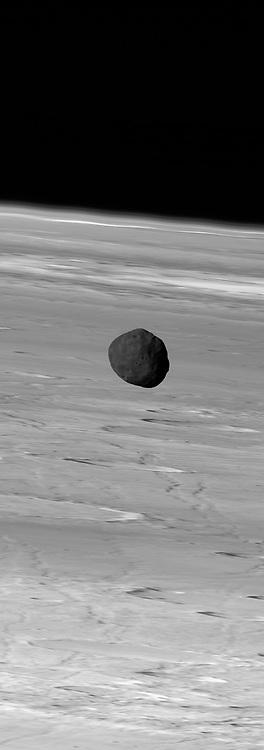 Martian Moon Phobos from Mars Express