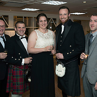 Perthshire Chamber of Commerce Business Star Awards 2017…Crieff Hydro Hotel<br />From left, Terry O'Connor, Craig Haxton, Caroline Pye, Chris Grant and Kieran O'Connor<br />Picture by Graeme Hart. <br />Copyright Perthshire Picture Agency<br />Tel: 01738 623350  Mobile: 07990 594431