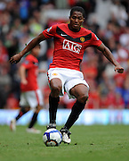 Antonio Valencia in action during the Barclays Premier League match between Manchester United and Birmingham City at Old Trafford on August 16, 2009 in Manchester, England.