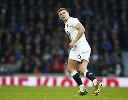 February 10, 2019 - London, England, United Kingdom - Owen Farrell of England ..during the Guiness 6 Nations Rugby match between England and France at Twickenham  Stadium on February 10th, 2019 in Twickenham, London,  England. (Credit Image: © Action Foto Sport/NurPhoto via ZUMA Press)