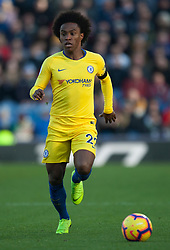 Willian of Chelsea in action - Mandatory by-line: Jack Phillips/JMP - 28/10/2018 - FOOTBALL - Turf Moor - Burnley, England - Burnley v Chelsea - English Premier League