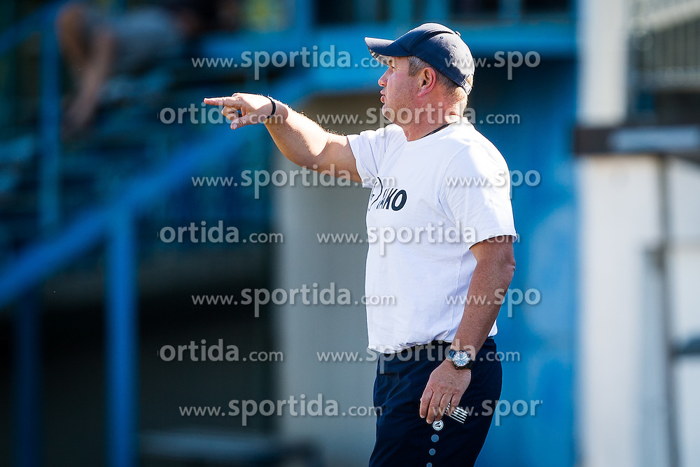 Matjaz Kek, head coach of HNK Rijeka during friendly football match between HNK Rijeka vs FC Skenderbeu Korca, on June 29, 2016 on Stadion Kranj, Kranj, Slovenia. Photo by Ziga Zupan / Sportida