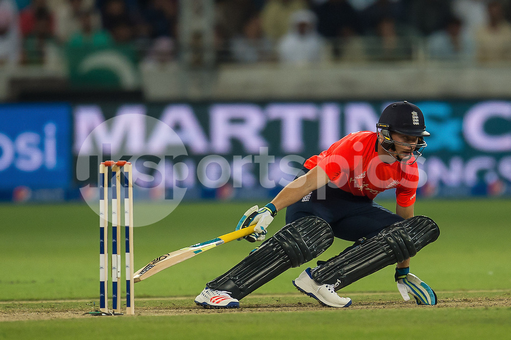 Jos Buttler, Captain of England during the 2nd International T20 Series match between Pakistan and England at Dubai International Cricket Stadium, Dubai, UAE on 27 November 2015. Photo by Grant Winter.