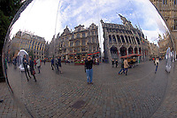 Arriving in Brussels the day before we left for Entebbe I had a chance to visit the Center Place, the old town square of Brussels.