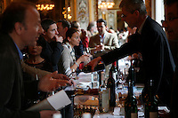 wine tasting of St. Emilion (Bordeaux) Grands Cru Classe, in Paris