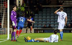 Jack Marriott of Peterborough United celebrates after scoring his goal - Mandatory by-line: Joe Dent/JMP - 21/11/2017 - FOOTBALL - ABAX Stadium - Peterborough, England - Peterborough United v Portsmouth - Sky Bet League One