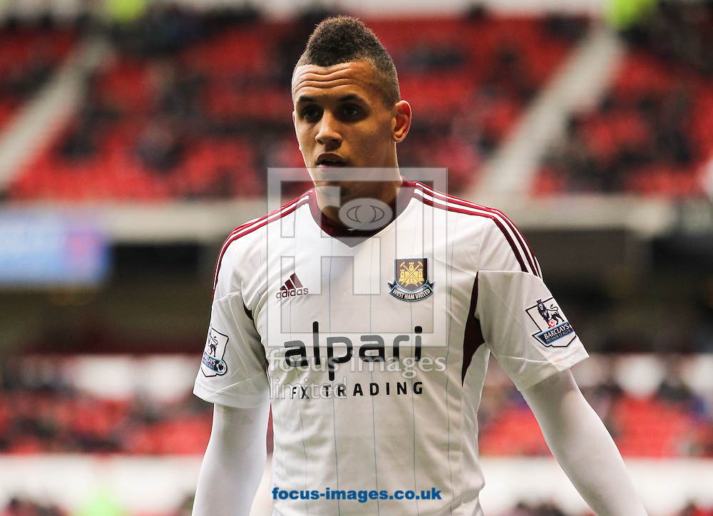 Picture by Tom Smith/Focus Images Ltd 07545141164<br /> 05/01/2014<br /> Ravel Morrison of West Ham United during the The FA Cup match at the City Ground, Nottingham.