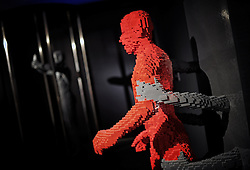 The new exhibition The Art Of The Brick by Nathan Sawaya exposed Auditorium Parco della Musica. NO WEB *** *** *** NO DAILY