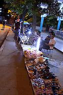 Street sales in Mayari, Holguin, Cuba.