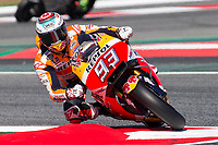 Marc Marquez of Spain and Repsol Honda Team  rides during free practice for the MotoGP of Catalunya at Circuit de Catalunya on June 10, 2017 in Montmelo, Spain.(ALTERPHOTOS/Rodrigo Jimenez)