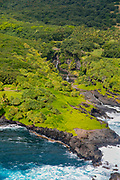 Pools of Oheo, AKA, Seven Sacred Pools, Haleakala Nationa Park, Kipahulu, Hana Coast, Maui, Hawaii