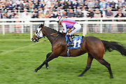 YEAH BABY YEAH (11) ridden by jockey Silvestre de Sousa and trained by Gay Kelleway winning The British EBF Frank Whittle Partnership Fillies Handicap Stakes over 7f (£20,000)at the York Dante Meeting at York Racecourse, York, United Kingdom on 18 May 2018. Picture by Mick Atkins.