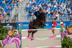 Jönsson Fredrik, SWE, Cold Play<br /> World Equestrian Games - Tryon 2018<br /> © Hippo Foto - Dirk Caremans<br /> 23/09/2018