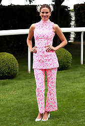Francesca Cumani during Ladies Day of the 2019 Invested Derby Festival at Epsom Racecourse, Epsom.