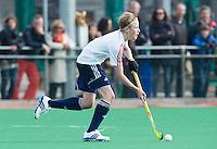 ROTTERDAM -    George Waller (Eng) .    Practice Match  Hockey : Netherlands Boys U16  v England U16 . COPYRIGHT KOEN SUYK