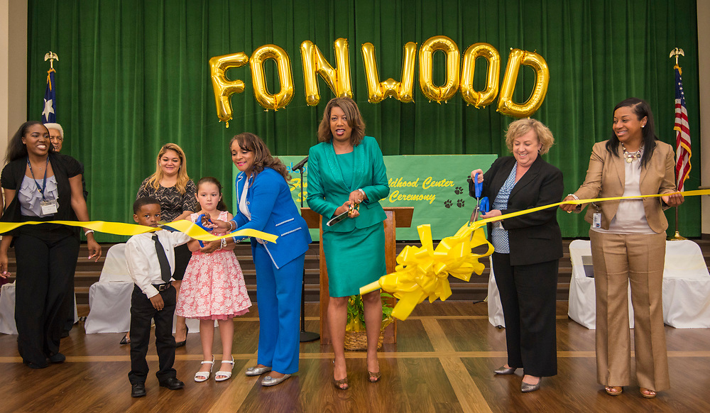 Dedication ceremony at Fonwood Early Childhood Center, May 3, 2017.