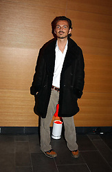 Fashion designer MATTHEW WILLIAMSON at the launch party for 'The London Look - Fashion From Street to Catwalk' held at the Museum of London, London Wall, Londom EC2 on 28th October 2004<br />
