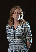 A portrait of Suzanne Joinson at the Edinburgh International Book Festival 2012 in Charlotte Square Gardens<br /> <br /> Pic by Pako Mera