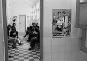 HIV positive peolple waiting at the Central hospital of Maputo.