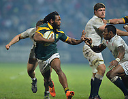 GEORGE, SOUTH AFRICA - JUNE 17: Sergeal Petersen of South Africa during the match between South Africa 'A' and England Saxons at Outeniqua Park on June 17 2016 in George, South Africa. (Photo by Roger Sedres/Gallo Images)