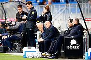 17-04-2016 VOETBAL:WILLEM II-ADO DEN HAAG:TILBURG<br /> Trainer/Coach Jurgen Streppel van Willem II slaat zijn handen voor zijn gezicht<br /> Foto: Geert van Erven