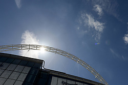 Wembley Stadium - Photo mandatory by-line: Dougie Allward/JMP - Mobile: 07966 386802 - 17/05/2015 - SPORT - football - London - Wembley Stadium - Bristol Rovers v Grimsby Town - Vanarama Conference Football