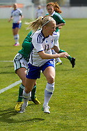 Tocha,Portugal, 9th April 2013 - European Women`s Under 19 - Northern Ireland  v Finland - Adelina Engman (Finland)