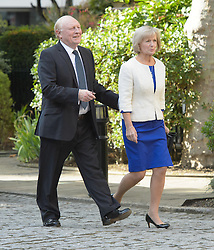 Neil Kinnock and Glenys  Kinnock  arrives for the wedding of Wikipedia founder Jimmy Wales to Tony Blair's former diary secretary, Kate Garvey at Wesley's Chapel, City of  London, October 6, 2012. Photo by Fiona Hanson / i-Images.