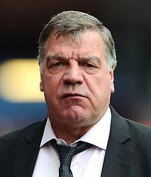 West Ham Manager, Sam Allardyce  - Photo mandatory by-line: Joe Meredith/JMP - Mobile: 07966 386802 - 09/05/2015 - SPORT - Football - Birmingham - Villa Park - Aston Villa v West Ham United - Barclays Premier League