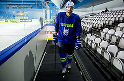 Blaz Gregorc of Slovenia during practice session of Team Slovenia at the 2017 IIHF Men's World Championship, on May 11, 2017 in AccorHotels Arena in Paris, France. Photo by Vid Ponikvar / Sportida