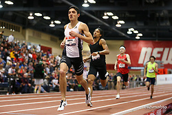 2020 USATF Indoor Championship<br /> Albuquerque, NM 2020-02-14<br /> photo credit: © 2020 Kevin Morris<br /> mens 800m, adidas