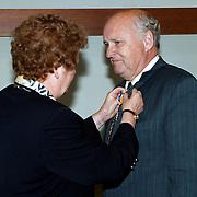 KO dominee Koppenhol door wethouder Willy Metz Huizen