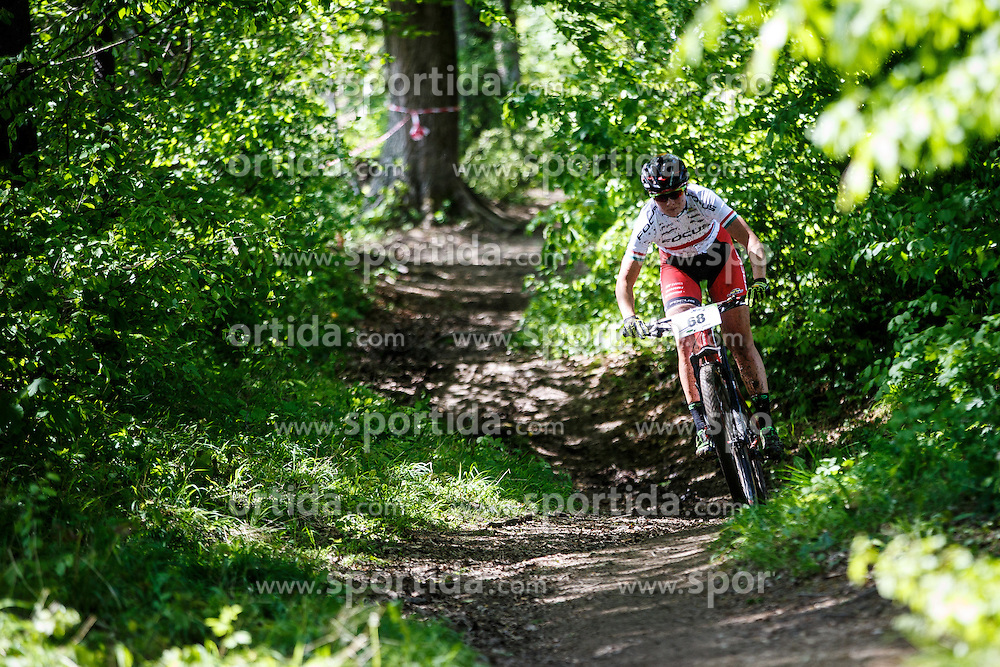 Barbara Benko of Slovenija during Cross Country XC Mountain bike race for Slovenian National Championship in Kamnik, on April 30, 2016 in Kamnik, Slovenia. Photo by Grega Valancic / Sportida