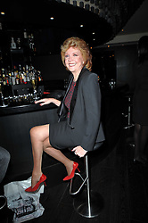 CILLA BLACK at the launch of Nicky Haslam's autobiography Redeeming Features held at Aqua Nueva, 240 regent Street, London on 5th November 2009.