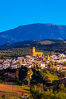 The town of Alhama de Granada, Granada Province, Andalusia, Spain.